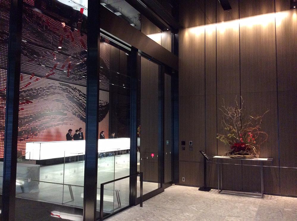 Millennium Mitsui Garden Hotel Tokyo Worktecht